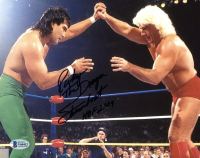 "Ricky ""The Dragon"" Steamboat Signed 8x10 Photo Inscribed ""HOF 2009"" (Beckett COA) at PristineAuction.com"