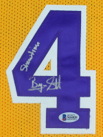 """Byron Scott Signed Jersey Inscribed """"Showtime"""" (Beckett COA) at PristineAuction.com"""