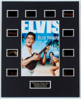 """Elvis Presley """"Blue Hawaii"""" LE 8x10 Custom Matted Original Film / Movie Cell Display at PristineAuction.com"""