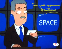"Alex Trebek Signed ""Family Guy"" 8x10 Photo Inscribed ""Fun Guest Appearance!"" (PSA Hologram) at PristineAuction.com"