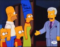 "Alex Trebek Signed ""The Simpsons"" 8x10 Photo (PSA Hologram) at PristineAuction.com"