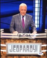 "Alex Trebek Signed ""Jeopardy!"" 8x10 Photo (PSA Hologram) at PristineAuction.com"