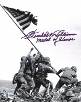 "Hershel W. Williams Signed 8x10 Photo Inscribed ""Medal Of Honor"" (Beckett COA) at PristineAuction.com"