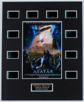 """""""Avatar"""" LE 8x10 Custom Matted Original Film / Movie Cell Display at PristineAuction.com"""
