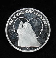 2019 From This Day Forward Silver Bullion Round at PristineAuction.com