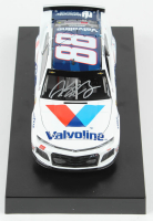 Alex Bowman Signed 2019 NASCAR #88 Valvoline Patriotic - 1:24 Premium Action Diecast Car (PA COA) at PristineAuction.com
