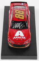 Alex Bowman Signed 2019 NASCAR #88 Axalta - Darlington - 1:24 Premium Action Diecast Car (PA COA) at PristineAuction.com
