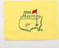 Jack Nicklaus Signed 2006 Masters Tournament Pin Flag (Beckett LOA) at PristineAuction.com