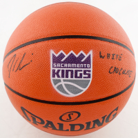"""Jason Williams Signed Kings Logo Game Ball Series Basketball Inscribed """"White Chocolate"""" (Beckett COA) at PristineAuction.com"""