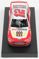Ryan Blaney Signed 2020 NASCAR #12 Bodyarmor - 1:24 Premium Action Diecast Car (PA COA) at PristineAuction.com