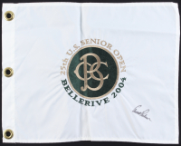 Arnold Palmer Signed 25th  U.S. Senior Open Pin Flag (Beckett LOA) at PristineAuction.com