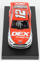 Ryan Blaney Signed 2020 NASCAR #12 DEX Imaging - 1:24 Premium Action Diecast Car (PA COA) at PristineAuction.com