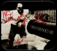"Van Halen ""Van Halen III"" CD Album Case Signed By (4) with Michael Anthony, Alex Van Halen, Eddie Van Halen & Gary Cherone (Beckett LOA) at PristineAuction.com"