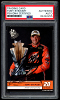 Tony Stewart Signed 2009 Press Pass Red #90 TY (PSA Encapsulated) at PristineAuction.com