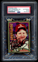 Dale Earnhardt Sr. Signed 1995 Metallic Impressions 1990 Winston Cup Champions (PSA Encapsulated) at PristineAuction.com