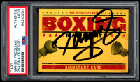 Manny Pacquiao Signed Boxing Autograph Card (PSA Encapsulated) at PristineAuction.com