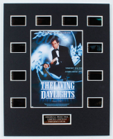 """James Bond """"The Living Daylights"""" LE 8x10 Custom Matted Original Film / Movie Cell Display at PristineAuction.com"""