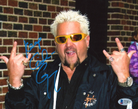 "Guy Fieri Signed 8x10 Photo Inscribed ""Keep Cookin'"" (Beckett COA) at PristineAuction.com"