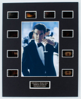 """""""Tomorrow Never Dies"""" LE 8x10 Custom Matted Original Film / Movie Cell Display at PristineAuction.com"""