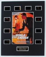 """""""The World is Not Enough"""" LE 8x10 Custom Matted Original Film Cell Display at PristineAuction.com"""