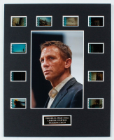 """""""Quantum of Solace"""" LE 8x10 Custom Matted Original Film Cell Display at PristineAuction.com"""