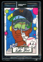 Willie Mays 2020 Topps Project 2020 #288 / Ermsy (Project 2020 Encapsulated) at PristineAuction.com