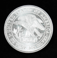 1 Troy oz .999 Silver Trade Unit Bullion Round at PristineAuction.com