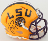 Joe Burrow Signed LSU Tigers Speed Mini Helmet (PSA COA) at PristineAuction.com
