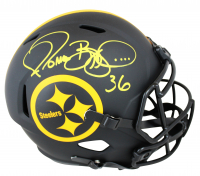 Jerome Bettis Signed Steelers Full-Size Eclipse Alternate Speed Helmet (Beckett COA) at PristineAuction.com
