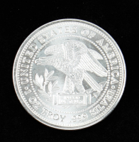 1 Troy oz .999 Silver Trade Unit Bullion Round at PristineAuction.com