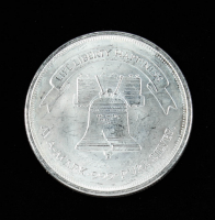 A-Mark Liberty Bell Silver Round at PristineAuction.com