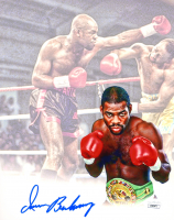 Iran Barkley Signed 8x10 Photo (JSA COA) at PristineAuction.com