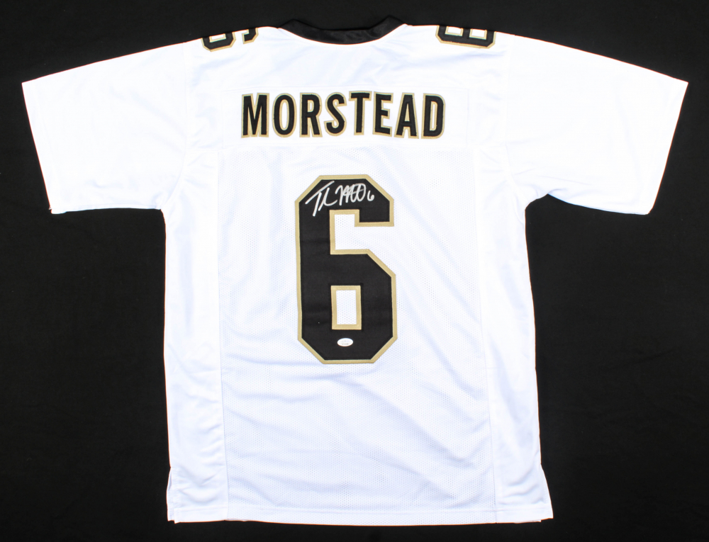Thomas Morstead Signed Jersey (JSA COA) at PristineAuction.com