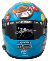 Kyle Busch Signed NASCAR M&M Hazelnut Spread Full-Size Helmet (Beckett COA & PA Hologram) at PristineAuction.com
