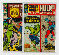 Lot of (2) Marvel Comics with 1965 Giant-Man and the Incredible Hulk #67 & 1966 Strange Tales #150 at PristineAuction.com