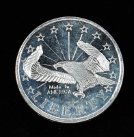 1 Troy oz .999 Liberty Silver Bullion Round at PristineAuction.com