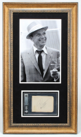 Frank Sinatra Signed 20x35 Custom Framed Cut Display (BGS Encapsulated) at PristineAuction.com