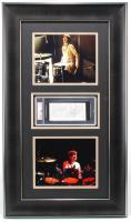 Ringo Starr & Zak Starkey Signed 19x33 Custom Framed Cut Display (PSA Encapsulated) at PristineAuction.com