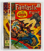 Lot of (2) Marvel Comic Books 1966 Fantastic Four Issues #62 & #69 at PristineAuction.com