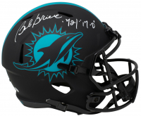 """Bob Griese Signed Dolphins Full-Size Eclipse Alternate Speed Helmet Inscribed """"72 / 17-0"""" (JSA COA) at PristineAuction.com"""