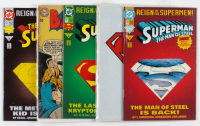 Lot of (5) DC Comic Books Including 1993 Reign of the Supermen! #13, 1963 Batman #157 at PristineAuction.com