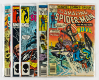 "Lot of (5) Marvel Comics ""The Amazing Spider-Man"" Comic Books with Issued Ranging From #171 - #255 at PristineAuction.com"