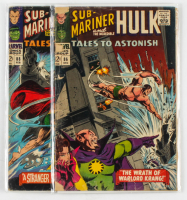 Lot of (2) Marvel Comic Books 1966 Tales to Astonish #88 & #86 at PristineAuction.com