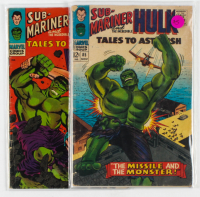 Lot of (2) Marvel Comic Books with 1966 Tales to Astonish #79 & #85 at PristineAuction.com