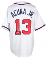 Ronald Acuna Jr. Signed Jersey (JSA COA) at PristineAuction.com