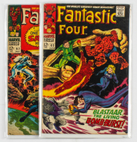 Lot of (2) Marvel Comic Books 1966 Fantastic Four Issues #62 & #63 at PristineAuction.com