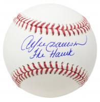 "Andre Dawson Signed OML Baseball Inscribed ""The Hawk"" (JSA COA) at PristineAuction.com"