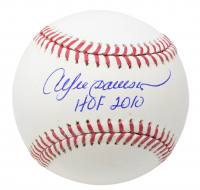 "Andre Dawson Signed OML Baseball Inscribed ""HOF 2010"" (JSA COA) at PristineAuction.com"