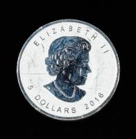 2016 Canada $5 Five Dollar Bigfoot Privy Maple Leaf .999 Fine Silver Bullion Round at PristineAuction.com