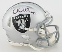 Darren Waller Signed Raiders Speed Mini Helmet (Beckett COA) at PristineAuction.com
